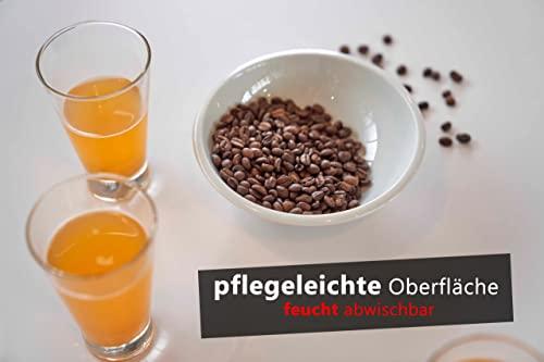 Bümö® elektrisch höhenverstellbarer Büroschreibtisch in 1200×800 oder 1600×800, Dekor: wählbar - 6