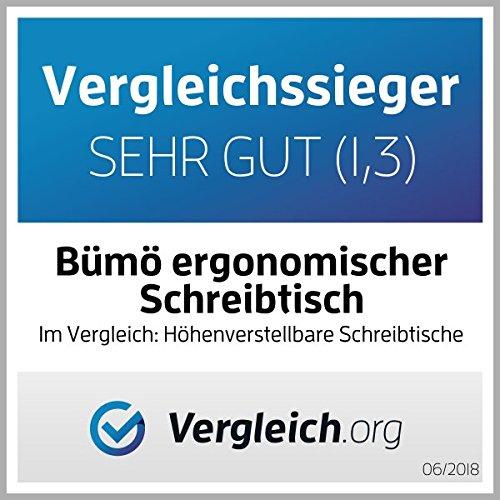 Bümö® mit Memoryfunktion, 120/160/180 x 80 cm , Dekor: wählbar - 7