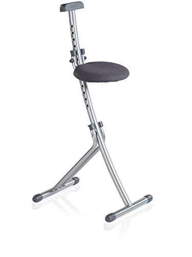 Rückenschonende Sitz- und Stehhilfe