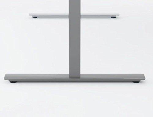 elektrisch höhenverstellbarer Schreibtisch 1600x800x680-1160, Dekor: wählbar - 6