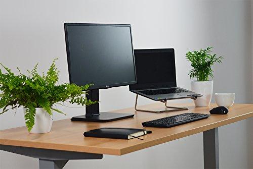 Elektrisch höhenverstellbarer Schreibtisch mit Memory Funktion, 5 Jahre Garantie, 160x80cm, buche - 3