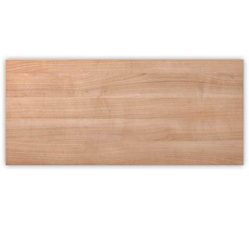 Bümö® stabile Tischplatte 2,5 cm stark - DIY Schreibtischplatte aus Holz