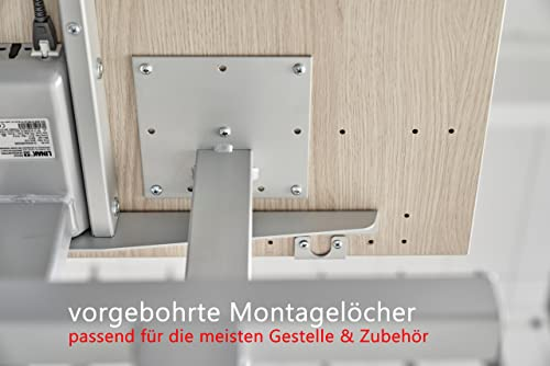Bümö® stabile Tischplatte 2,5 cm stark – DIY Schreibtischplatte aus Holz - 4