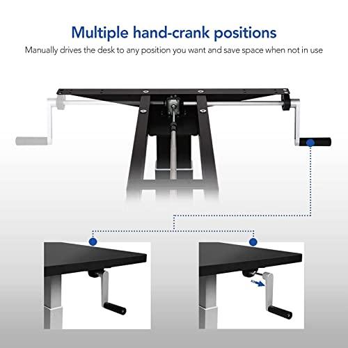 Flexispot H2B Höhenverstellbarer Schreibtisch Kurbelverstellbares Tischgestell, Passt für Alle Gängigen Tischplatten. - 5